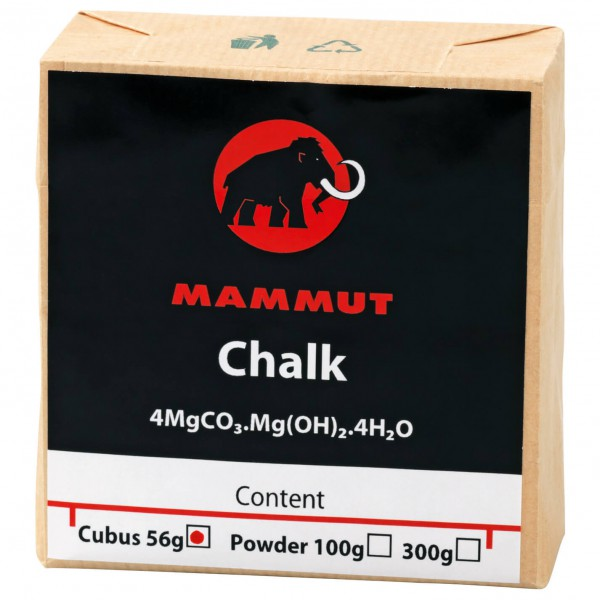 Mammut - Chalk Cubus 56 g - Magnesium