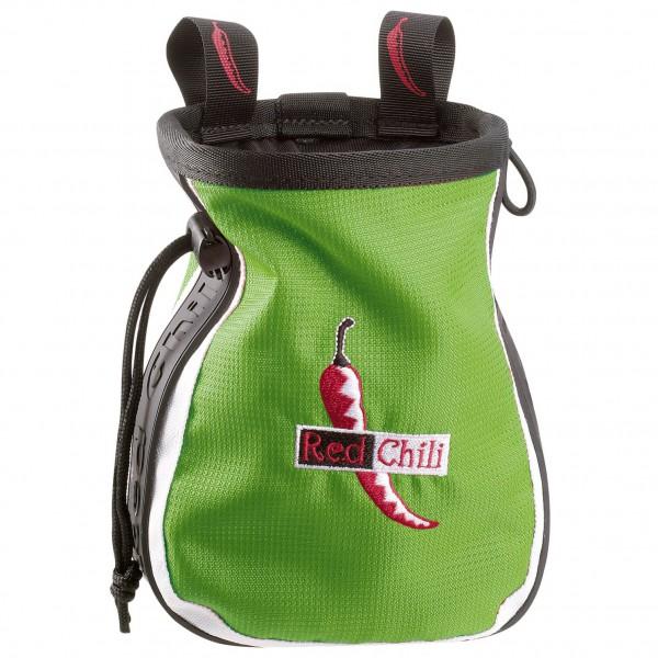 Red Chili - Chalkbag Logo - Magnesiumpussi