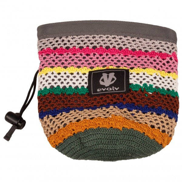 Evolv - Knit Chalk Bag Dhama - Magnesiumpussi
