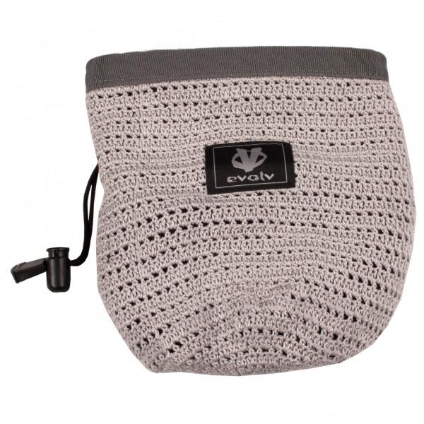 Evolv - Knit Chalk Bag Fog - Sac à magnésie