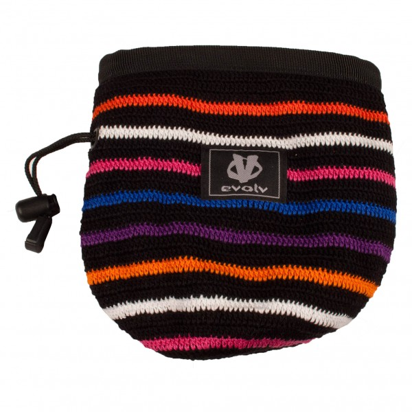Evolv - Knit Chalk Bag Techno - Chalk bag