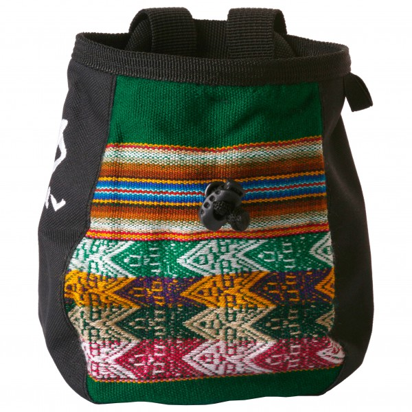 Evolv - Andes Chalk Bag Emerald - Pofzakje
