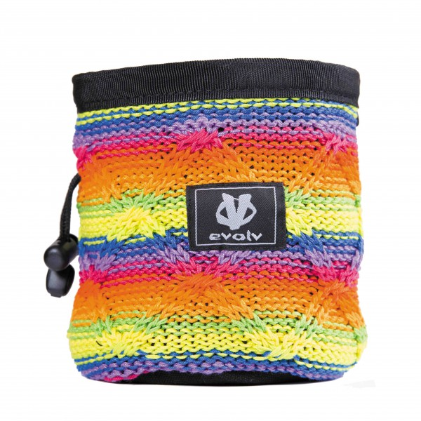 Evolv - Knit Chalk Bag Pride - Kritpåse