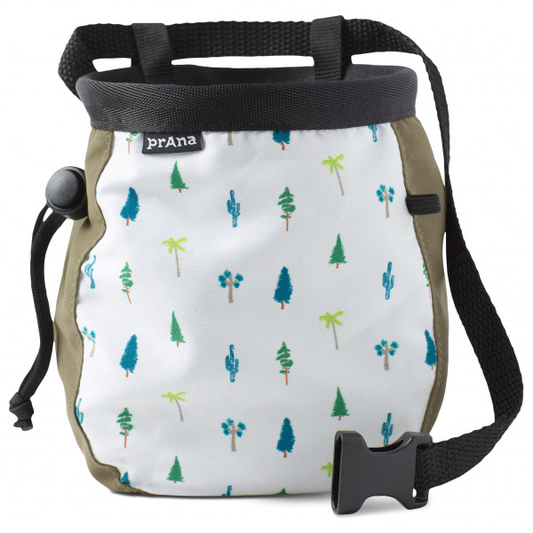 Prana - Graphic Chalk Bag With Belt - Magnesiumpussi