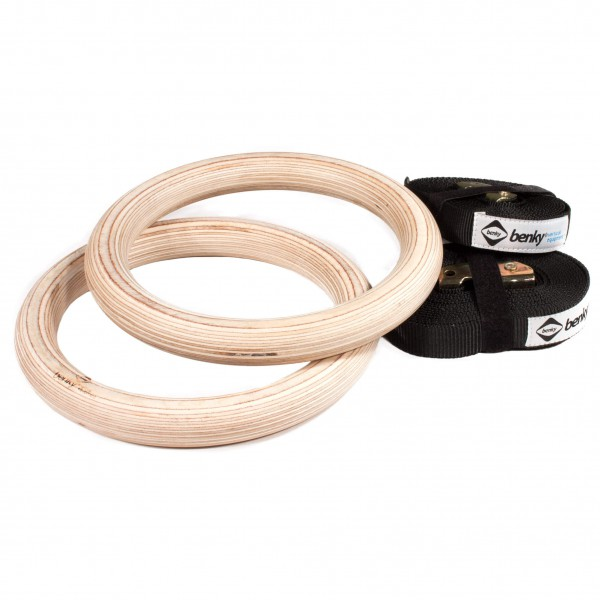 Benky - Wood Rings - Matériel d'entraînement d'escalade