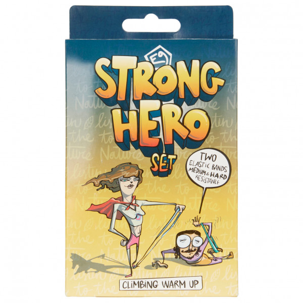 E9 - Strong Hero Warm Up Band - Fitnessband