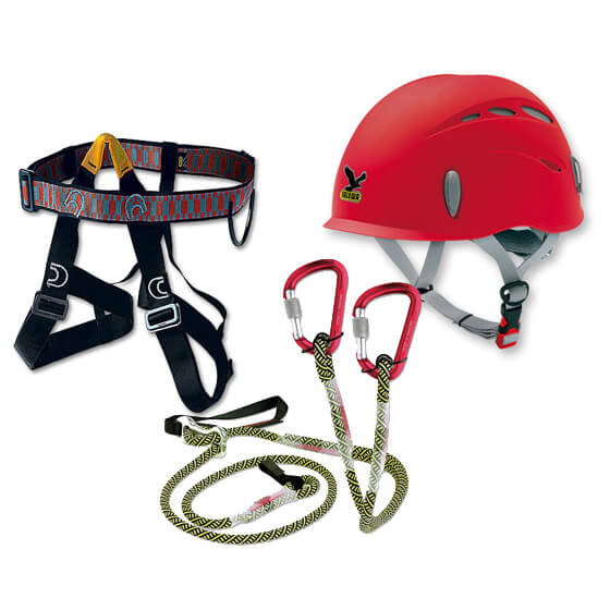 Salewa Kit Via Ferrata G2 Toxo Rock Classic