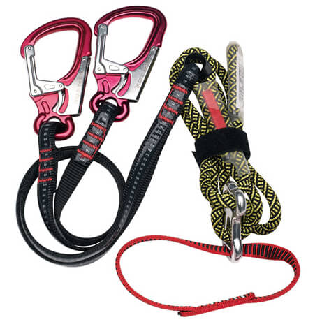 Salewa - Set Via Ferrata G4 Attac EasyLock - Klettersteigset