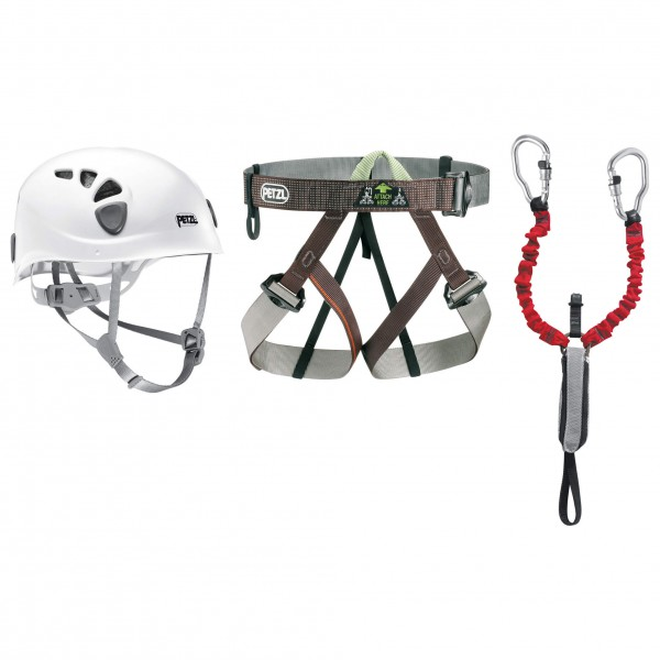Petzl - Kit Via Ferrata - Ensemble complet de via ferrata