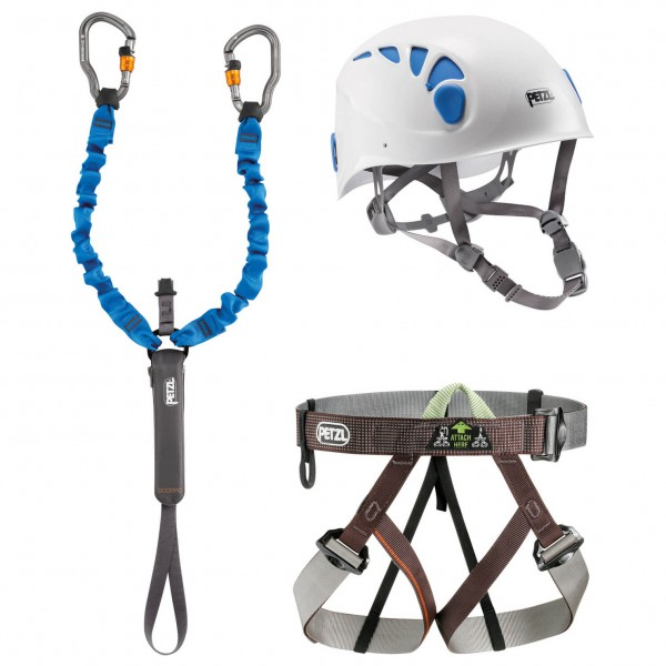 Petzl - Kit Via Ferrata - Climbing set