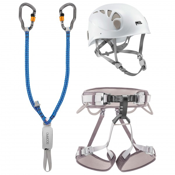 Petzl - Kit Via Ferrata Vertigo Corax T2 - Via Ferrata sett