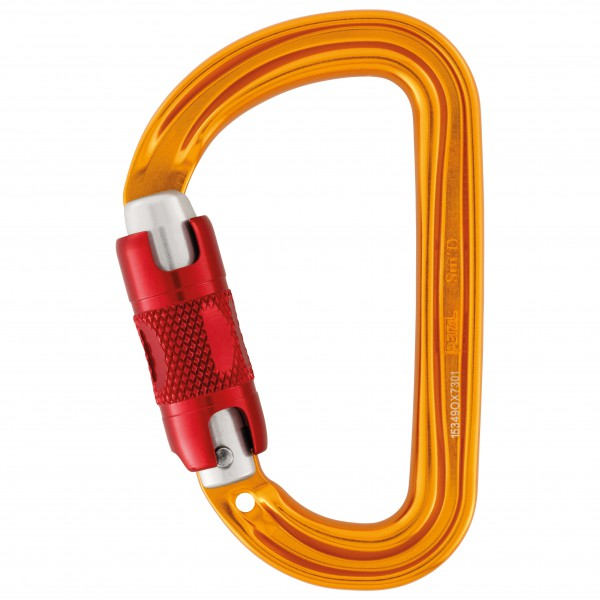 Petzl - Smd Twist-Lock - Mousqueton à verrouillage