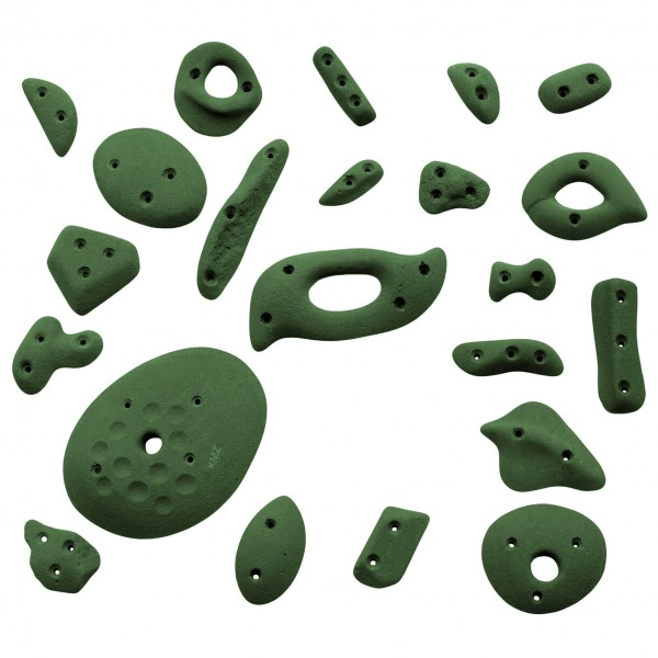 KMZ Holds - Spax 1 - Set of 22 climbing holds