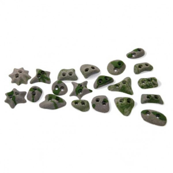 Metolius - Screw-On Footholds - Pack de 20 prises de pieds