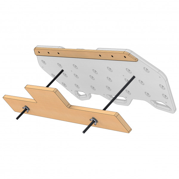 Max Climbing - Basewood Montageset - Hangboard