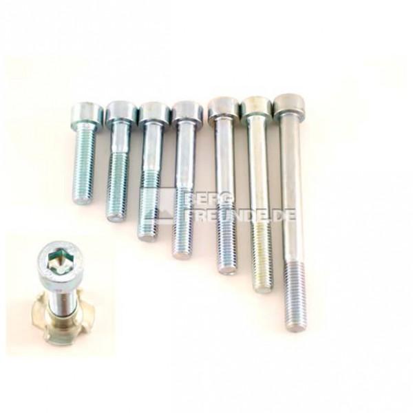 Innensechskantschrauben M10 für Klettergriffe