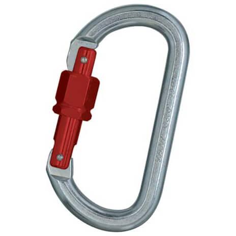 Faders - Stahlkarabiner oval-Sechskant