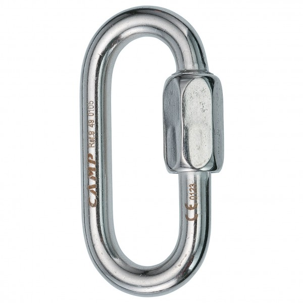 Camp - Oval Quick Link - Screw gate (inox)