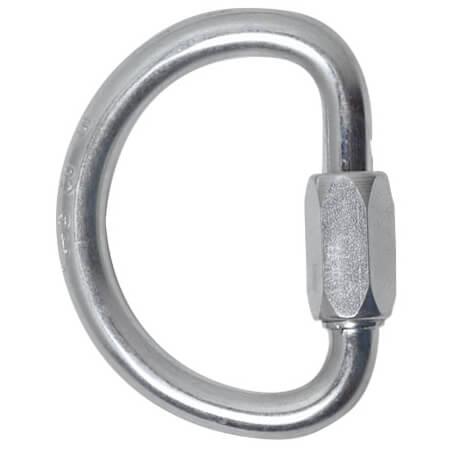 Fixe - Semi-Circular Schraubglied - Stalen karabiner