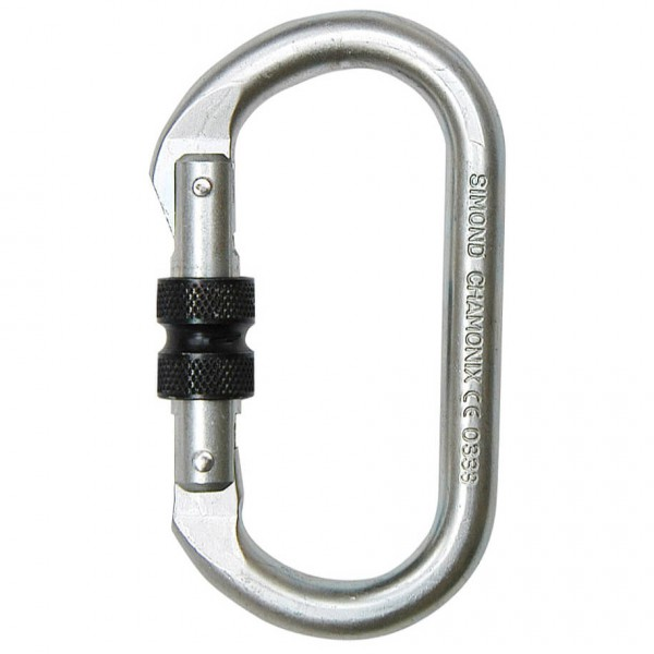 Simond - Alpin Steel Screw Gate - Stahlkarabiner
