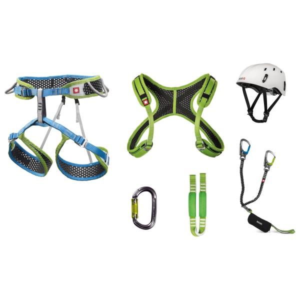 Via Ferrata Webee  Chest Pail Set - Climbing set