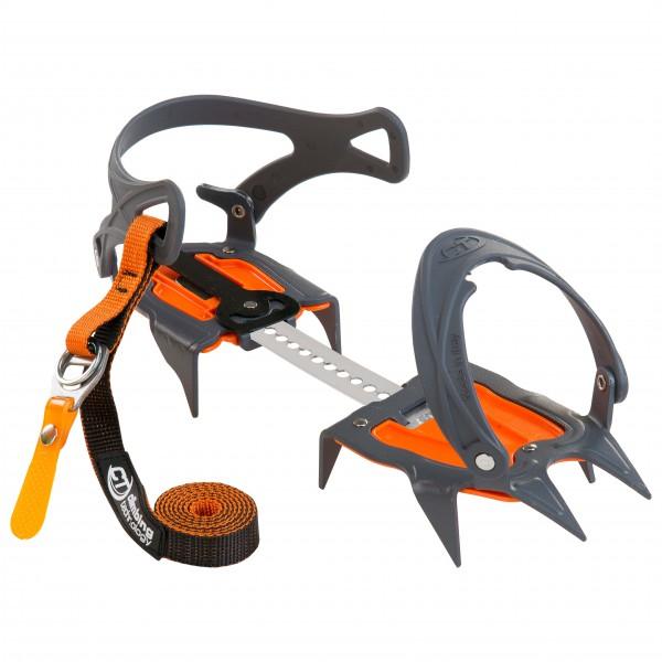 Climbing Technology - Nevis 10 Pt Flex Bar Stainless Steel - Stijgijzers