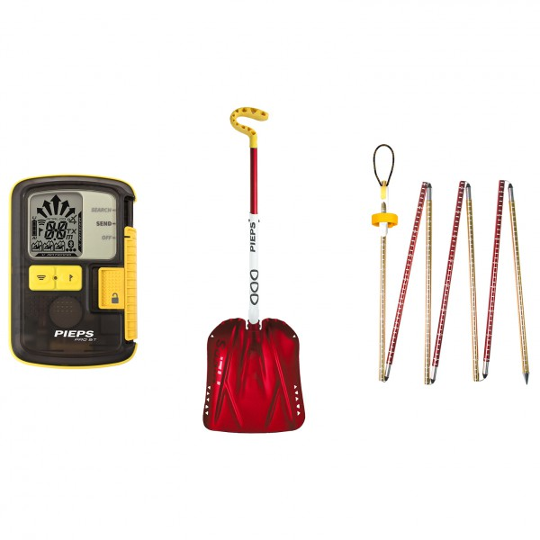 Pieps - Set iProbe II (Pro BT; Shovel C-720; iProbe II 260 - Set transmisor para avalanchas