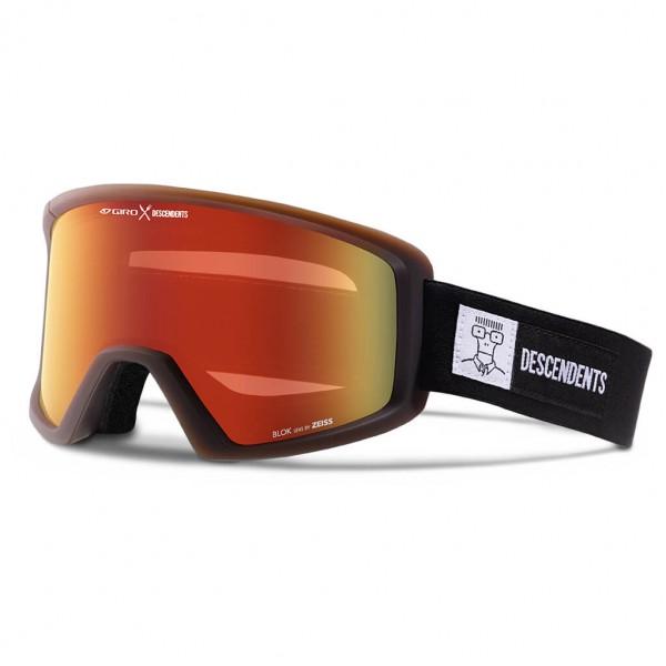 Giro - Blok Amber Scarlet - Skibril