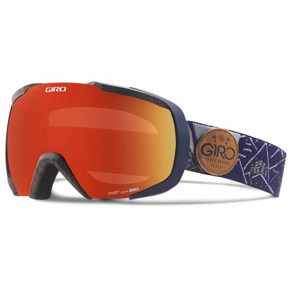 Giro - Onset Amber Scarlet - Skibril
