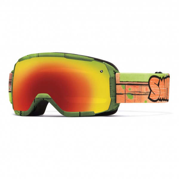 Smith - Grom Red Sol-X Mirror - Masque de ski