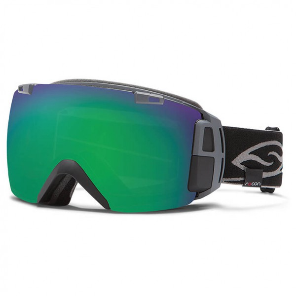 Smith - I/O Recon Green Sol-X Mirror / Red Sensor