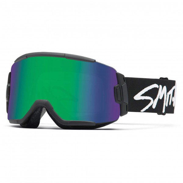 Smith - Squad Green Sol-X Mirror / 8S-Yellow