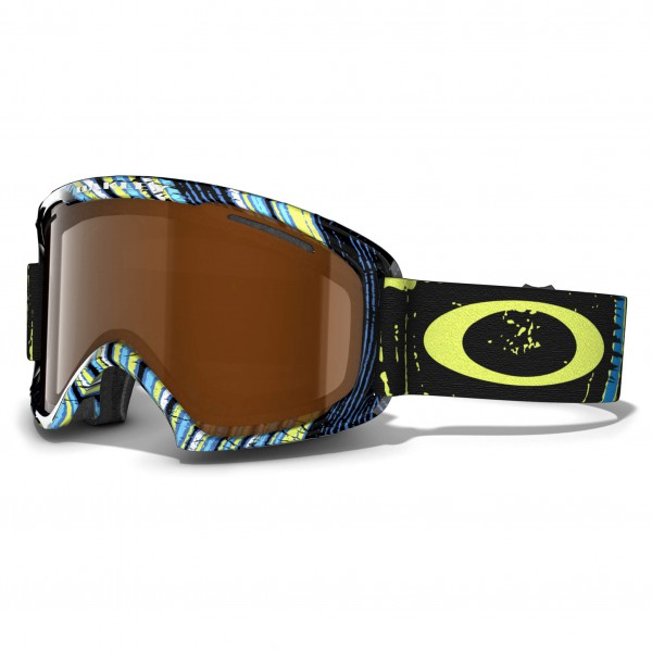 Oakley - 02 XL Black Iridium - Masque de ski