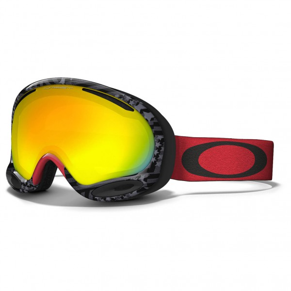 Oakley - Aframe 2.0 Fire Iridium - Masque de ski