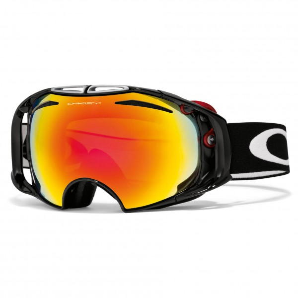 Oakley - Airbrake Fire & Persimmon - Masque de ski
