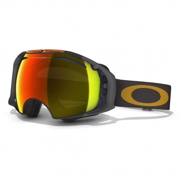 Oakley - Airbrake Fire Irdium &Persimmon - Ski goggles