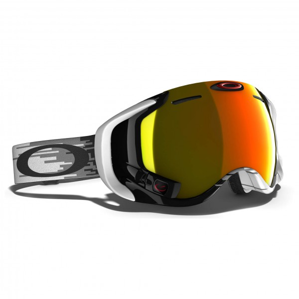 Oakley - Airwave Fire Iridium - Masque de ski