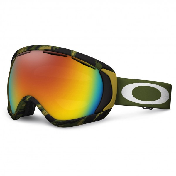 Oakley - Canopy Fire Iridium - Masque de ski