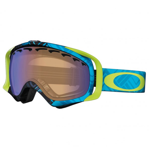 Oakley - Crowbar Blue Iridium - Skibril