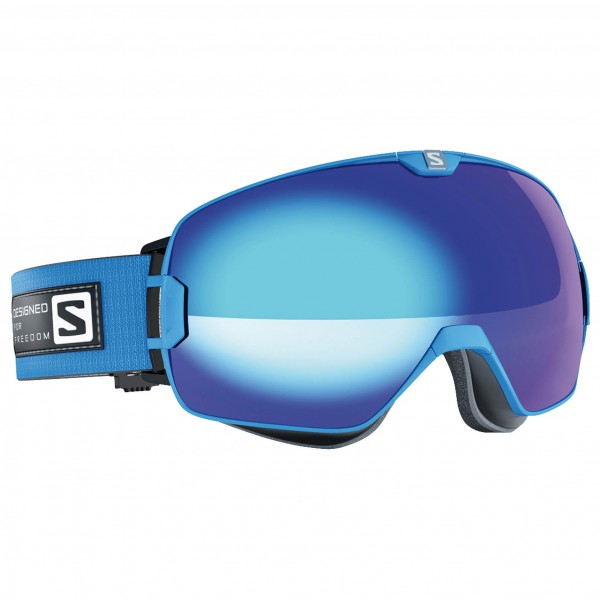 Salomon - Xmax Blue/Solar Blue +Xtra L - Laskettelulasit