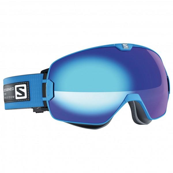 Salomon - Xmax Blue/Solar Blue +Xtra L - Masque de ski