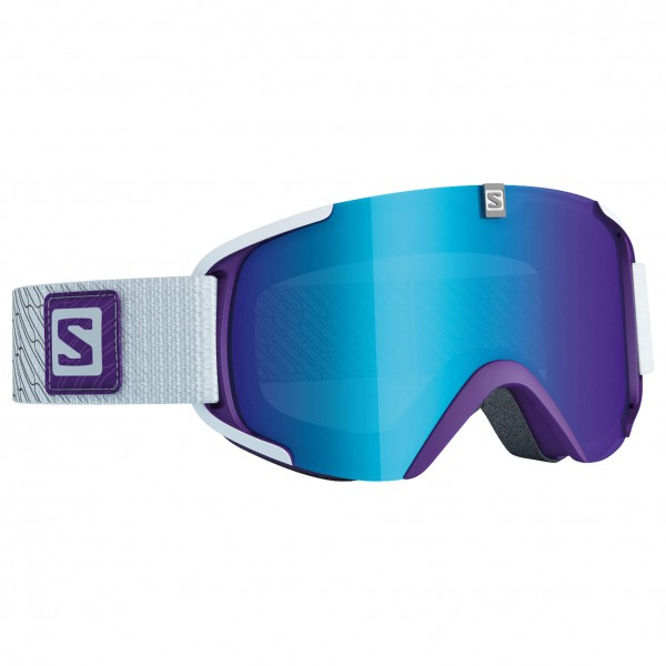 Salomon - Xview S Purple/Univ. Mid Blue - Masque de ski
