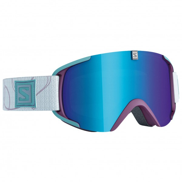 Salomon - Xview S Rasberry/Solar Blue - Masque de ski