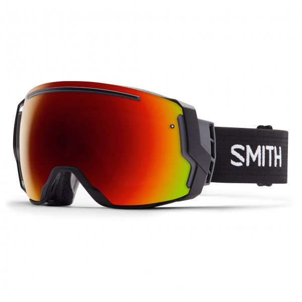 Smith - I/O 7 Red Sol-X / Blue Sensor - Masque de ski
