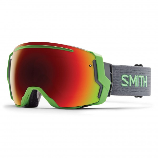 Smith - I/O 7 Red Sol-X / Blue Sensor - Skibrille