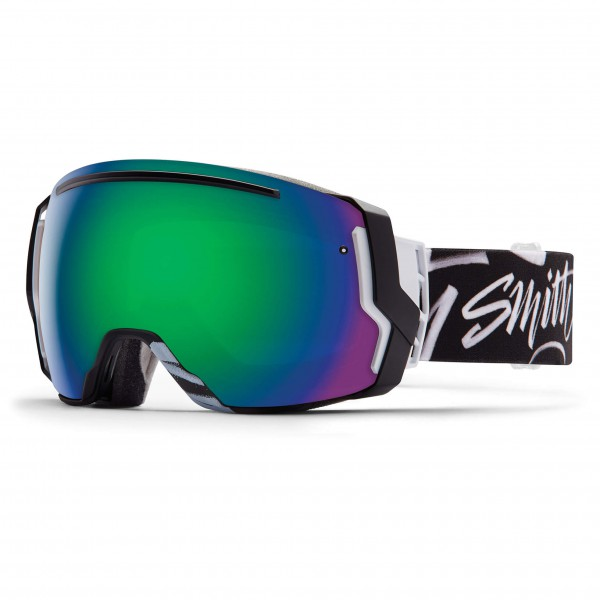 Smith - I/O 7 Green Sol-X / Red Sensor - Skibrille
