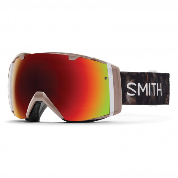 Smith - I/O Red Sol-X / Blue Sensor - Ski goggles