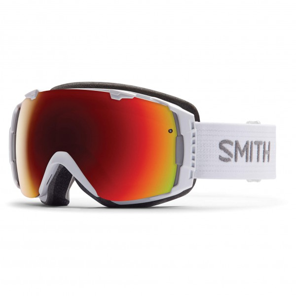 Smith - I/O Red Sol-X / Blue Sensor - Masque de ski