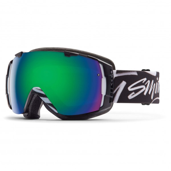 Smith - I/O Green Sol-X / Red Sensor - Skibrille