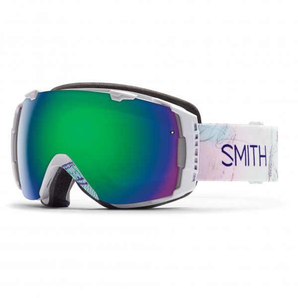Smith - Women's I/O Green Sol-X / Red Sensor - Masque de ski